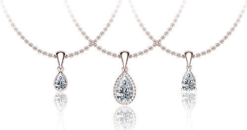 pendants with diamonds